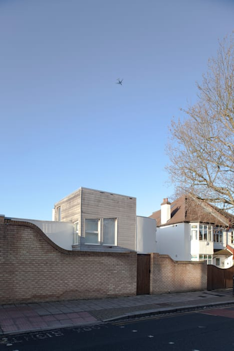 The Camberwell Curve Rumah Modern Oleh Nic Antony Architects Ltd Modern
