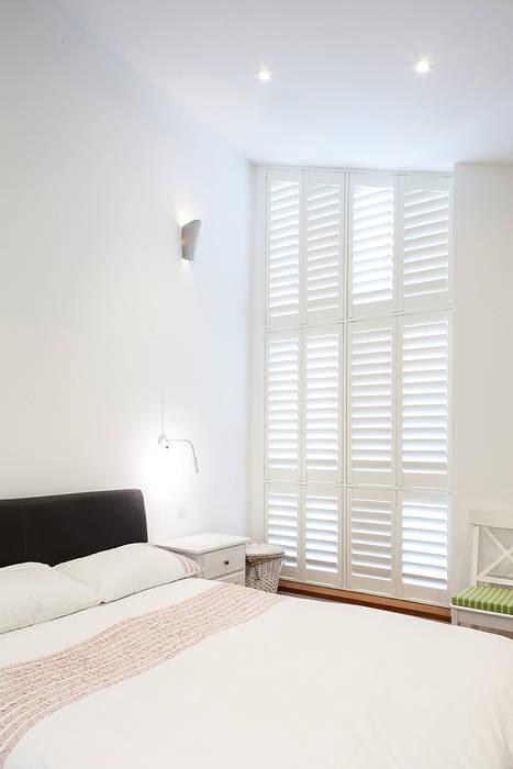New Build House, London:  Bedroom by Nic  Antony Architects Ltd, Modern
