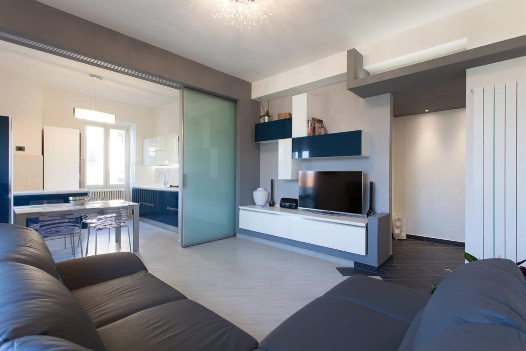Moderne Wohnzimmer von Fabrizio De Rosa Architetto Modern