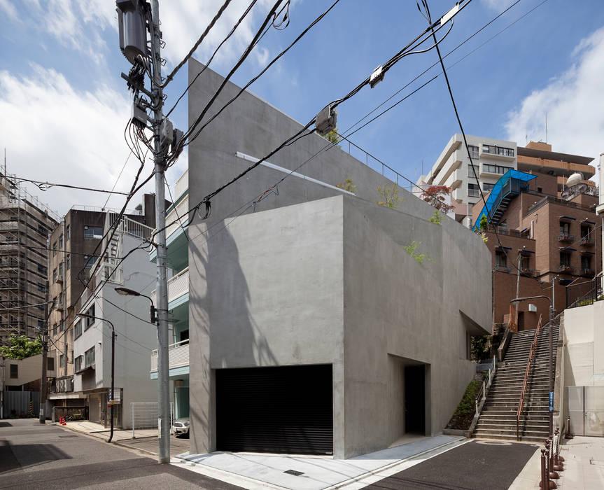 外観:全景: プライム建築都市研究所が手掛けた家です。
