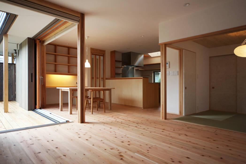 リビング・ダイニング オリジナルデザインの ダイニング の 瀧田建築設計事務所 オリジナル