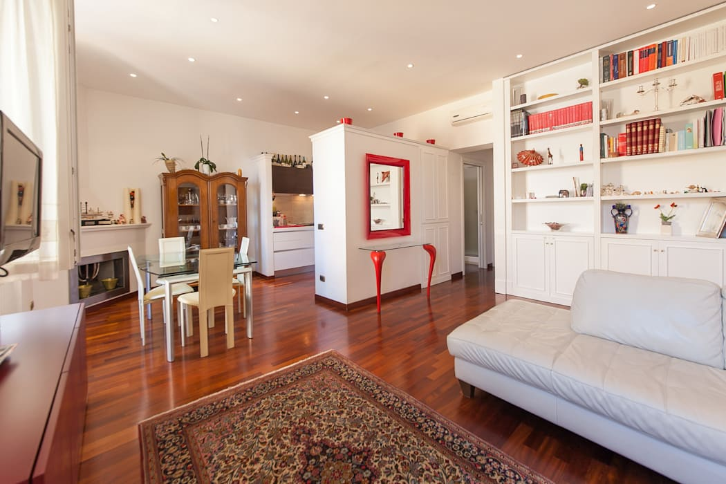 Ruang Keluarga Modern Oleh Edi Solari Modern