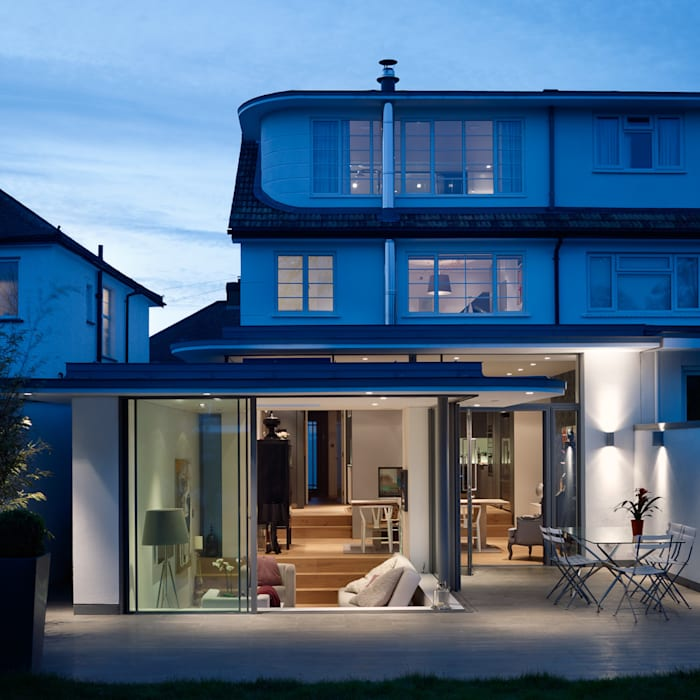 Rear elevation de 3s architects and designers ltd