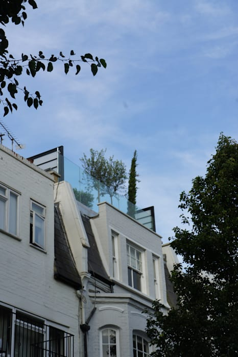 Fulham Roof Terrace by Organic Roofs Minimalist