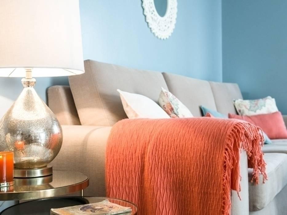 Apartamento em Sintra Salas de estar modernas por MUDA Home Design Moderno