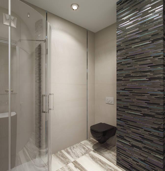 нормальная квартира Хандсвел Ванная комната в стиле модерн