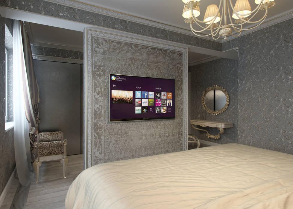Лёгкая классика Спальня в классическом стиле от homify Классический