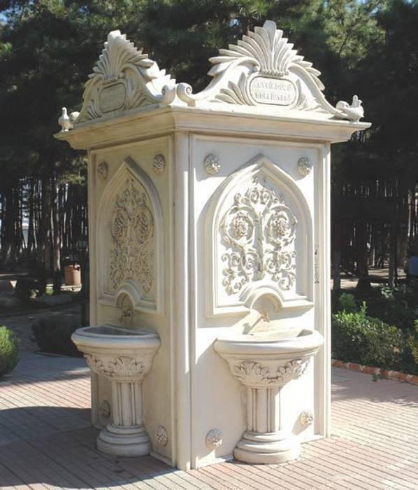 Park Bahçe Heykelleri – Beton  Çeşme Modellerimiz:  tarz Bahçe, Modern