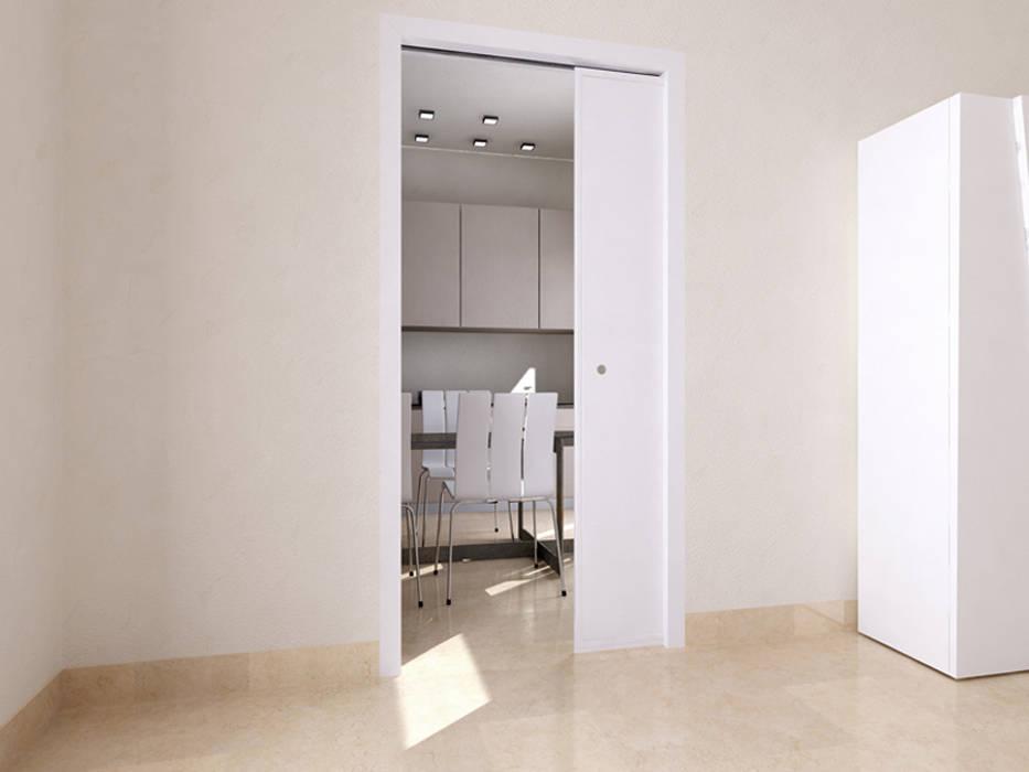 Casoneto mod. Leonardo PUERTAS CALVENTE S.C.P. Puertas y ventanas de estilo moderno