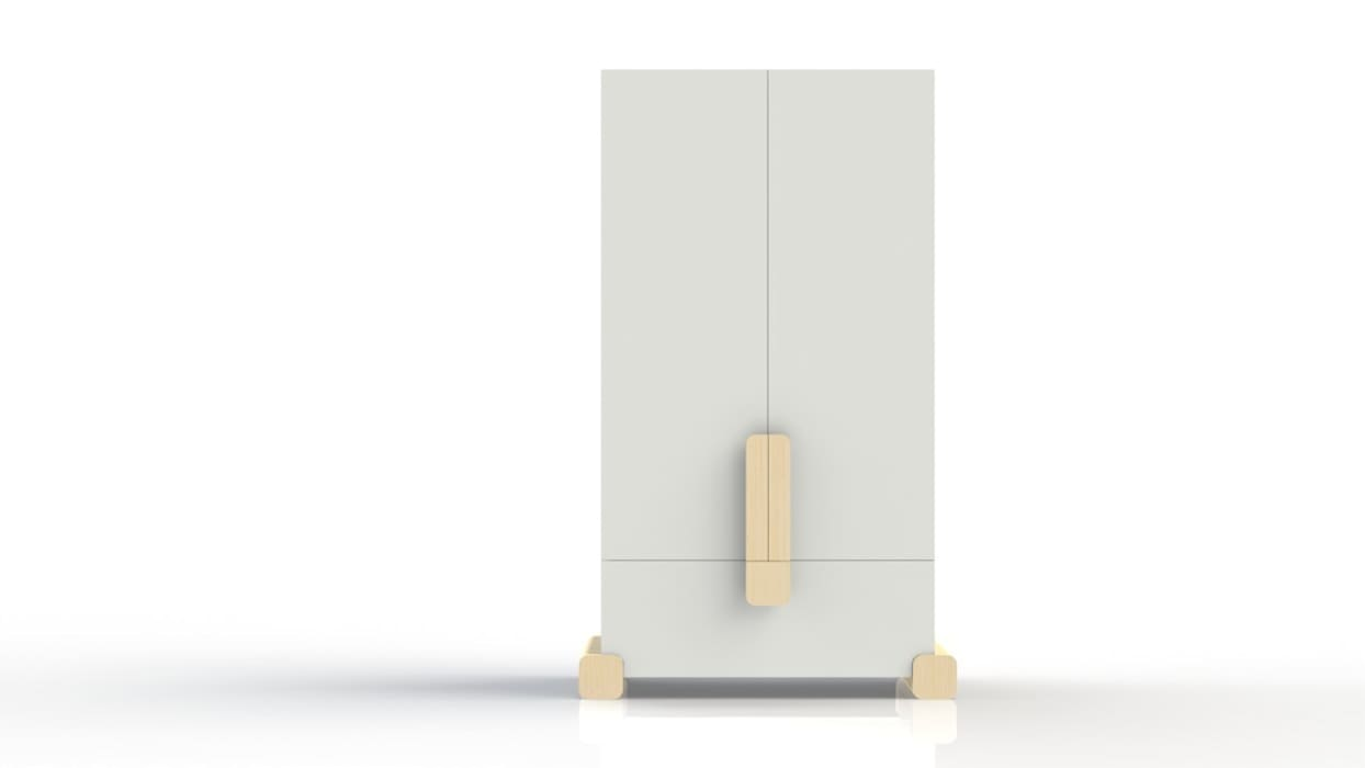 linnenkast STOER:  Kinderkamer door ukkepuk meubels