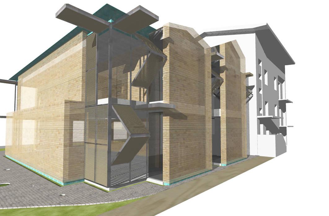 Dittongo architetti Modern Houses
