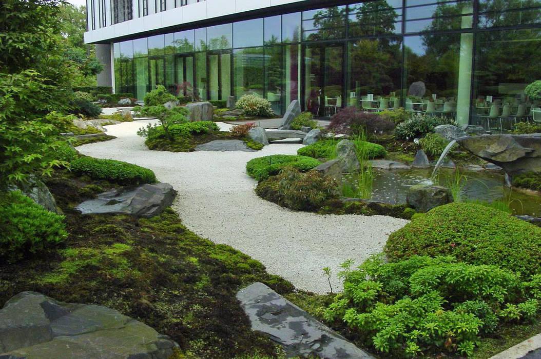 Japangarten hannover kantinengarten b rogeb ude von for Japanische gartengestaltung