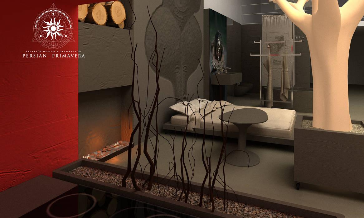 Дом мечты: Спальни в . Автор – Persian Primavera