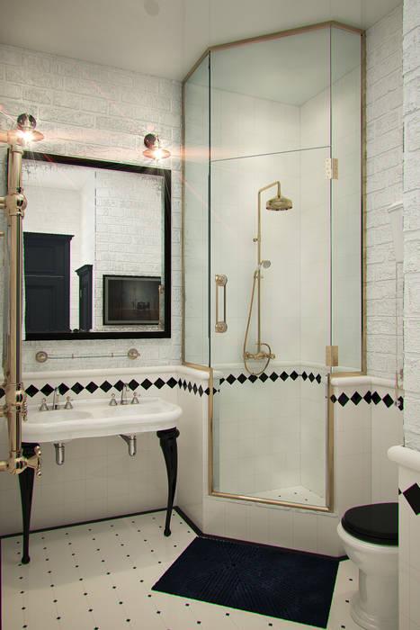 Anna Vladimirova Industrial style bathroom