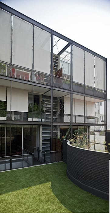 Edificio Teotihuacán Casas minimalistas de Cm2 Management Minimalista