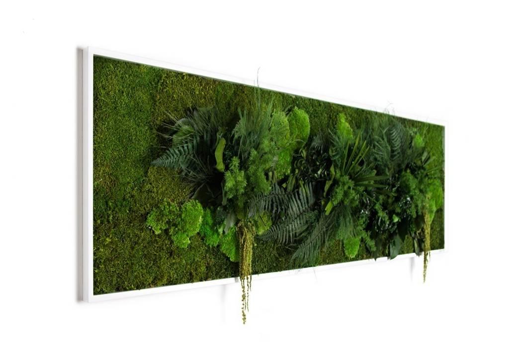 Pflanzenbild 140x40cm: modern  von FlowerArt GmbH | styleGREEN,Modern Naturfaser Beige