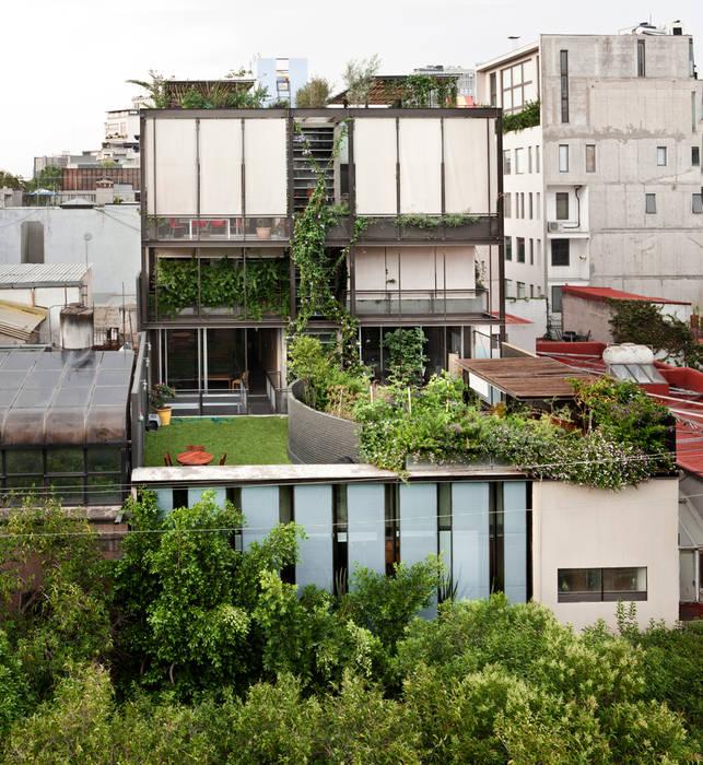 Edificio Teotihuacán: Jardines de estilo  por Cm2 Management