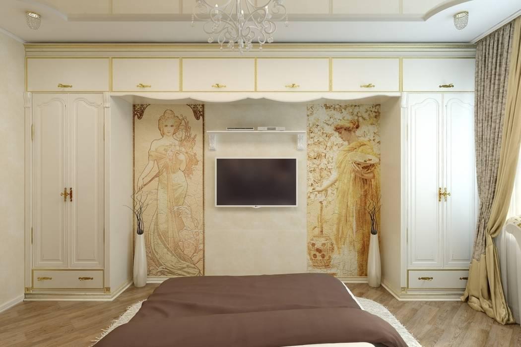 Дизайн спальни в Иваново: Спальни в . Автор – Дизайн студия 'Exmod' Павел Цунев