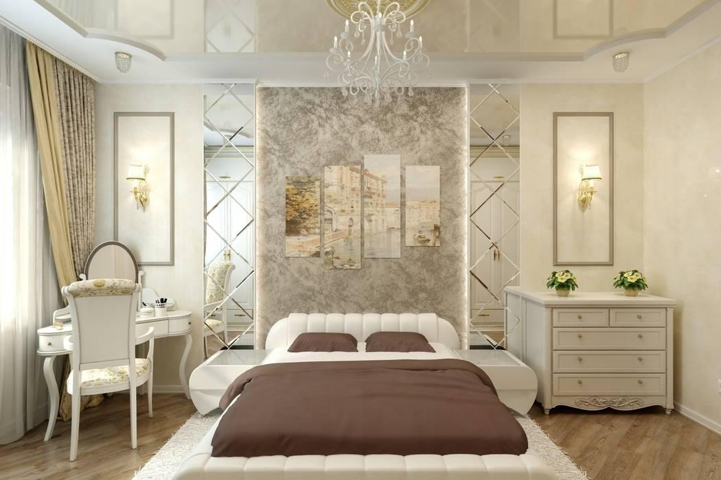 Дизайн спальни в Иваново: Спальни в . Автор – Цунёв_Дизайн. Студия интерьерных решений.