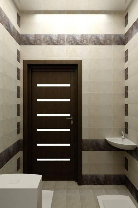 Дизайн санузла.: Ванные комнаты в . Автор – Цунёв_Дизайн. Студия интерьерных решений.