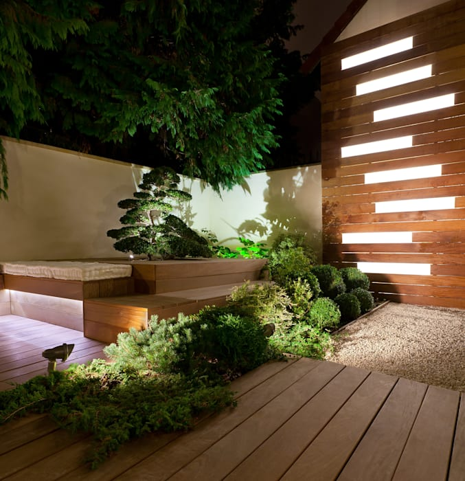 Suresnes: Jardin de style  par AD Concept Gardens