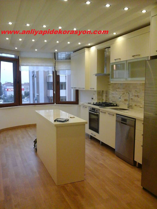 anlı yapı dekorasyon – anlı yapı dekorasyon:  tarz Mutfak, Modern