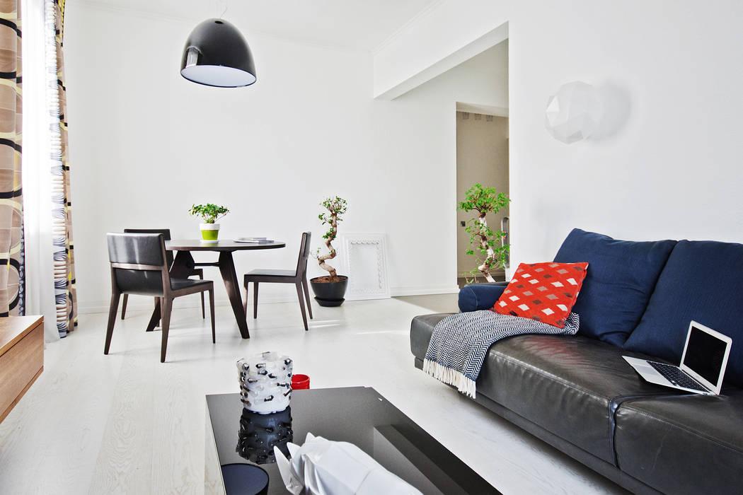 Квартира на Университетском Гостиная в стиле минимализм от Owner /designer Минимализм