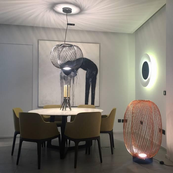 Showroom - Zona Jantar: Espaços comerciais  por QuartoSala - Home Culture