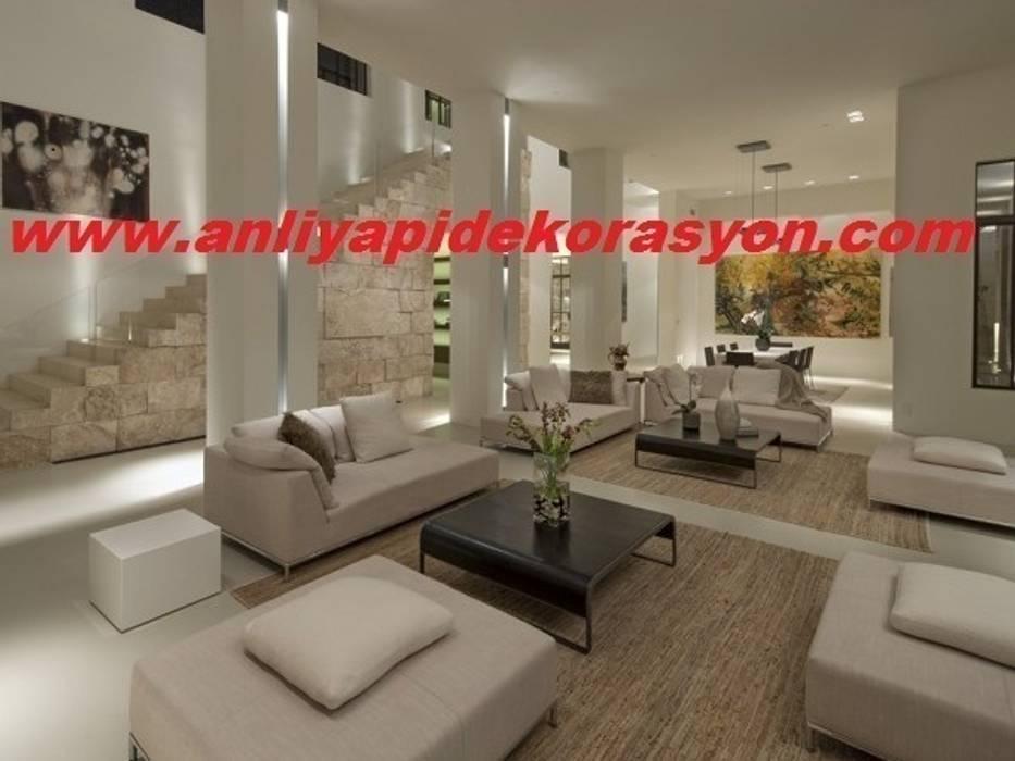 anlı yapı dekorasyon – anlı yapı dekorasyon:  tarz Oturma Odası, Modern