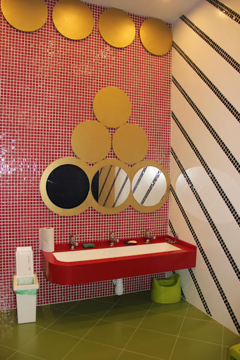 Eclectic style bathroom by Anna Vladimirova Eclectic
