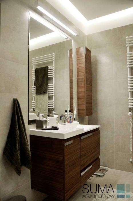 WARSAW ONE: styl , w kategorii Łazienka zaprojektowany przez SUMA Architektów