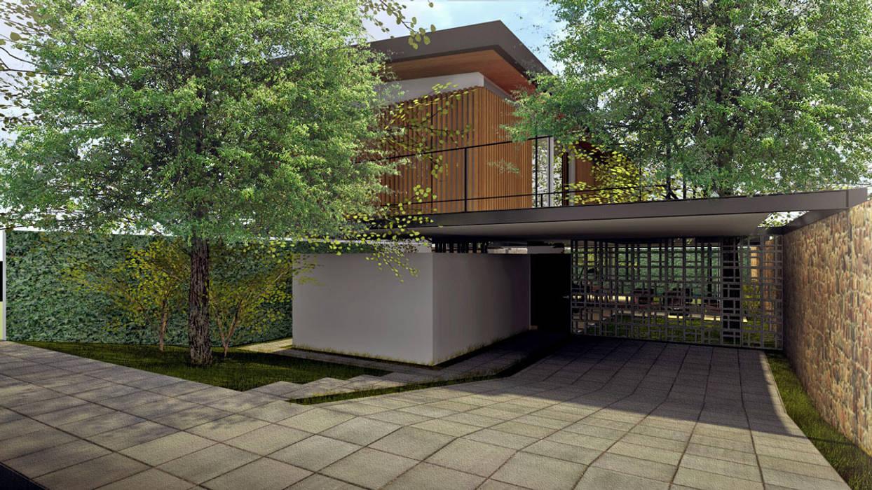 Houses by ODVO Arquitetura e Urbanismo,