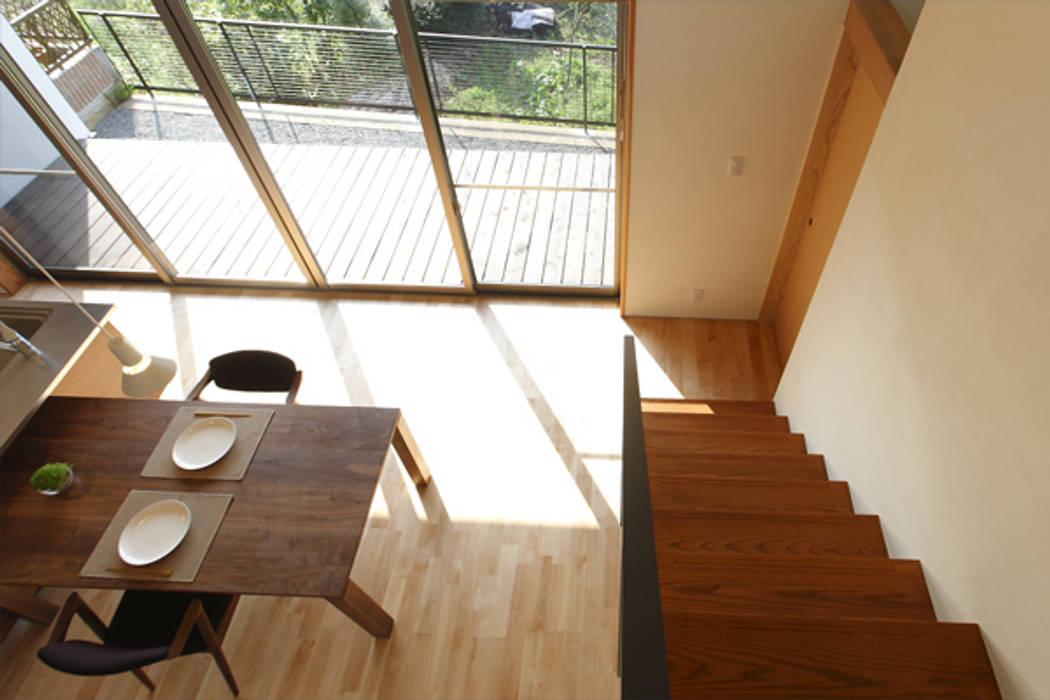 jazzycube: アーキシップス古前建築設計事務所が手掛けたダイニングです。