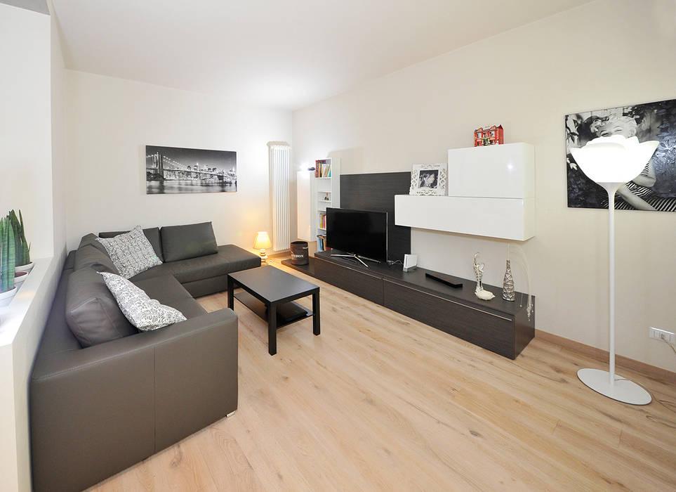 Salotto Moderno Legno : Wohnzimmer von mardegan legno homify