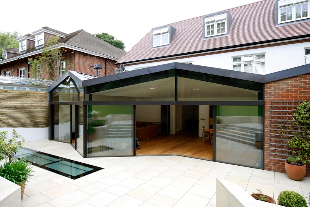 North London House Extension Modern houses by Caseyfierro Architects Modern