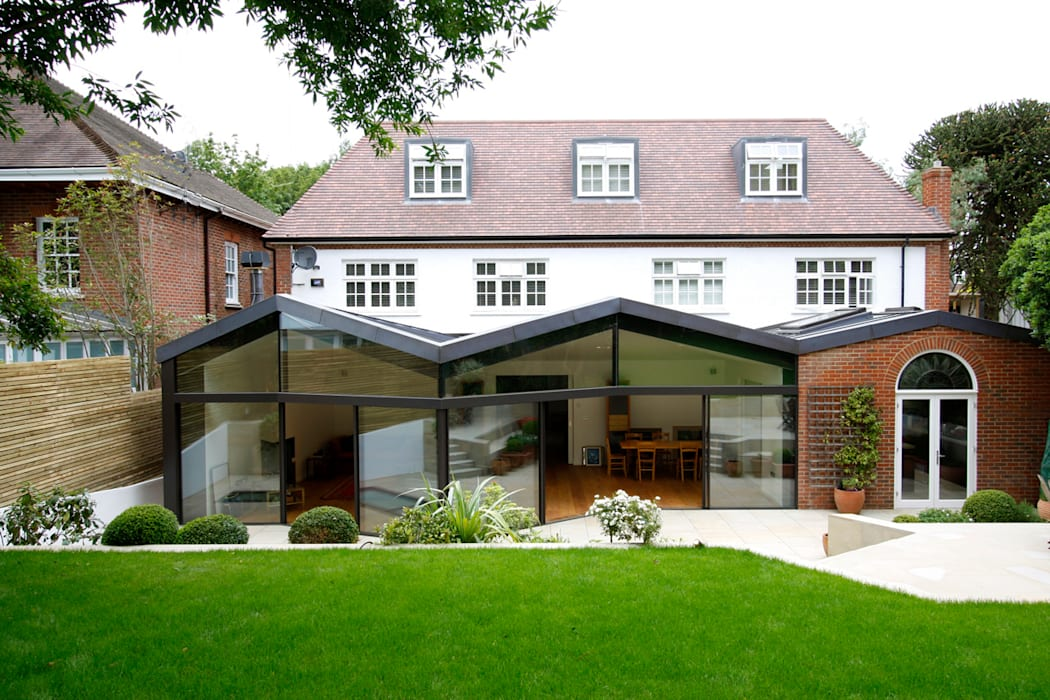 North London House Extension Caseyfierro Architects Modern Living Room