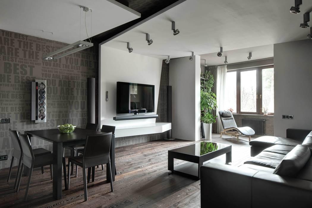 Salones de estilo minimalista de ARTRADAR ARCHITECTS Minimalista