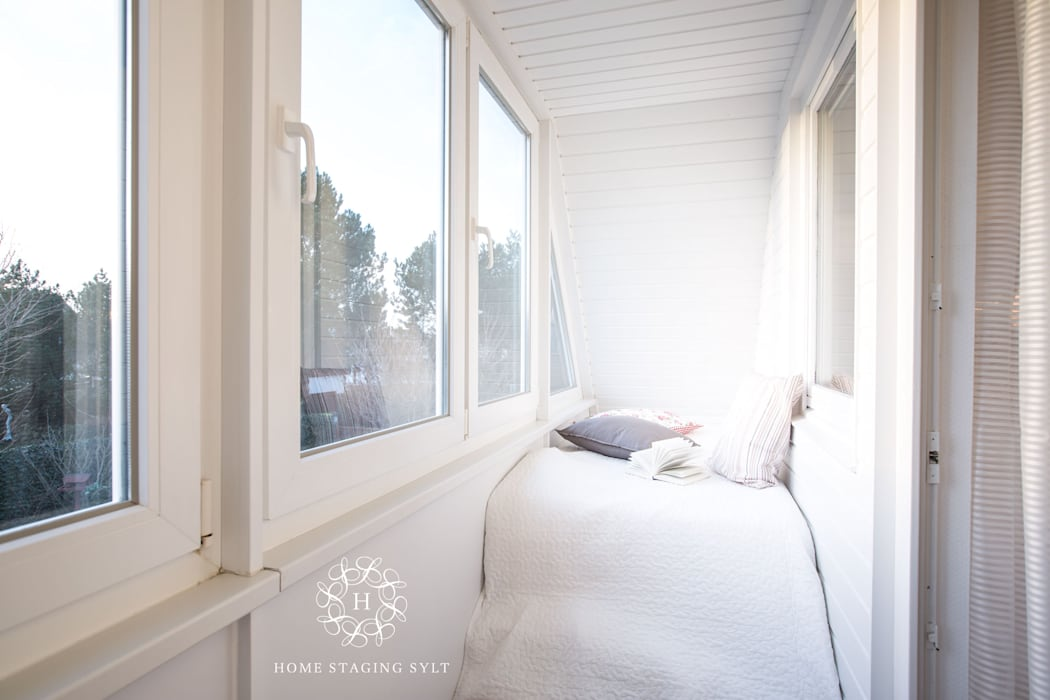 Balcones y terrazas clásicos de Home Staging Sylt GmbH Clásico