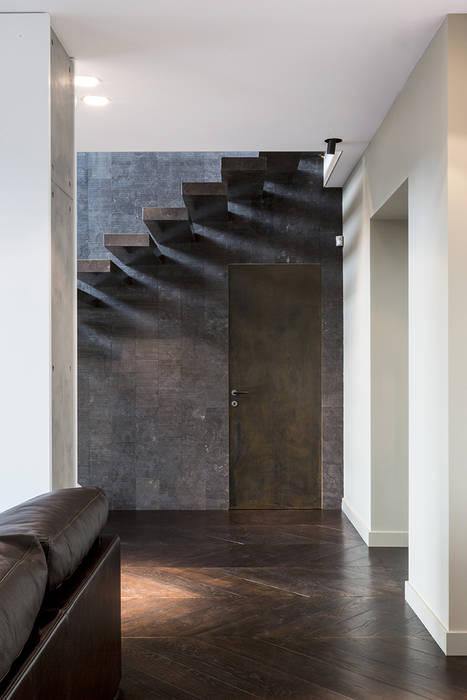 MG2 Architetture – Interior with terrace: Pareti in stile  di mg2 architetture