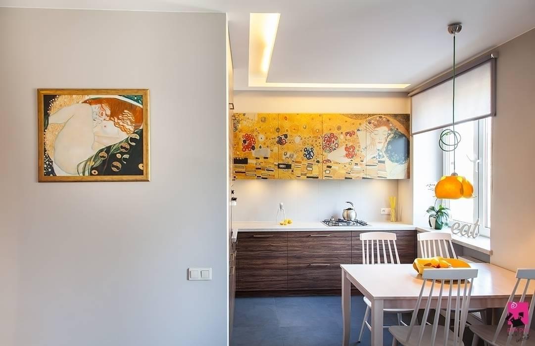 Nhà bếp phong cách hiện đại bởi Pink Pug Design Interior Hiện đại