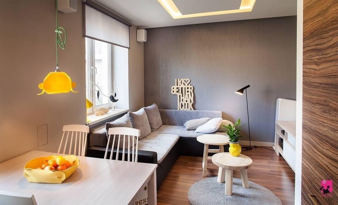 Modern living room by Pink Pug Design Interior Modern