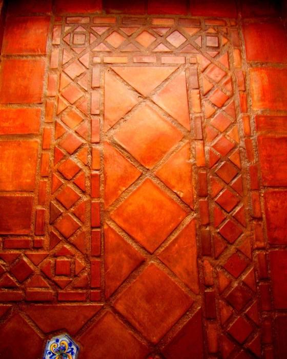 pavimento in cotto fatto a mano: Cucina in stile in stile Classico di Il mosaico sas & co di salem mohsen