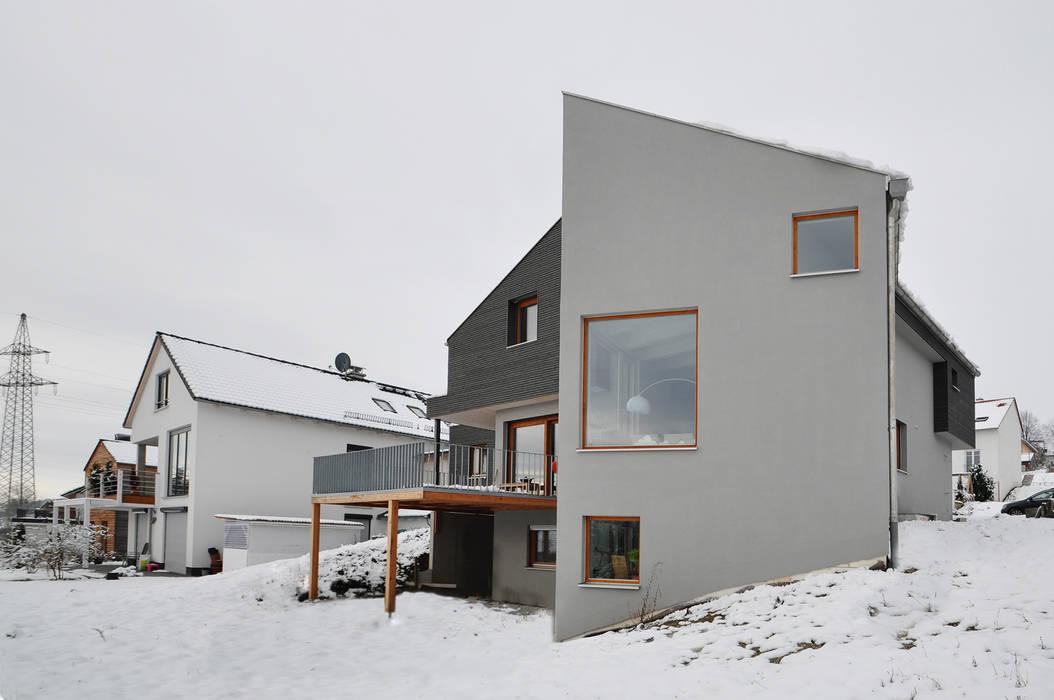 Pakula & Fischer Architekten GmnH Pintu & Jendela Gaya Eklektik