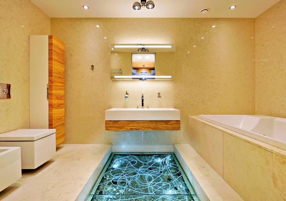 Cанузел: Ванные комнаты в . Автор – Архитектурное бюро Лены Гординой