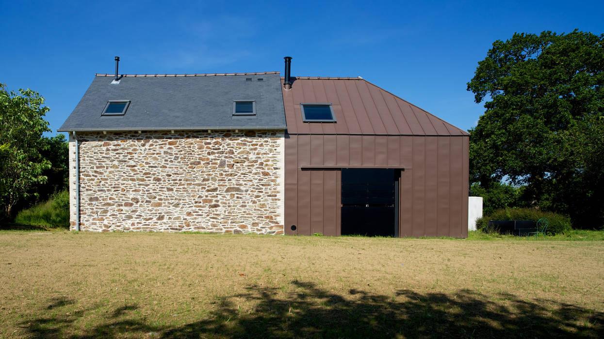 Le Bourg Neuf Maisons modernes par ng-a Moderne