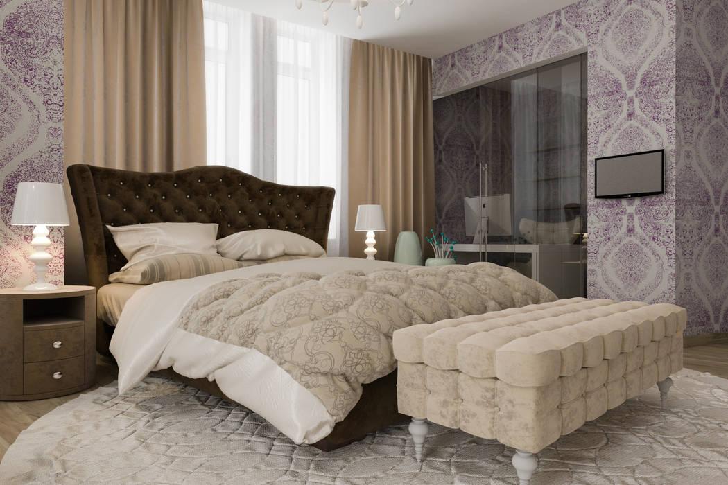 спальня : Спальни в . Автор – pashchak design