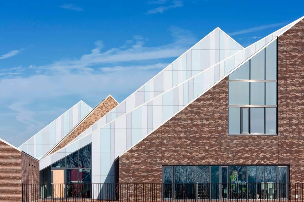 Kapversnijdingen Moderne scholen van Peter van Aarsen Architect Modern