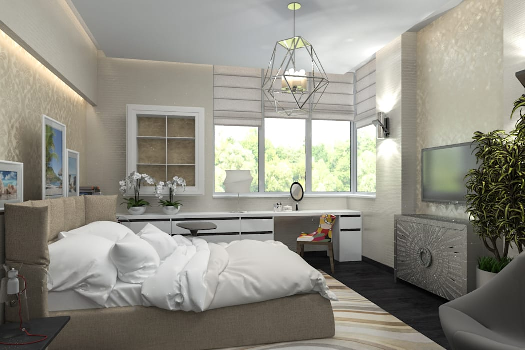 Bedroom by pashchak design,