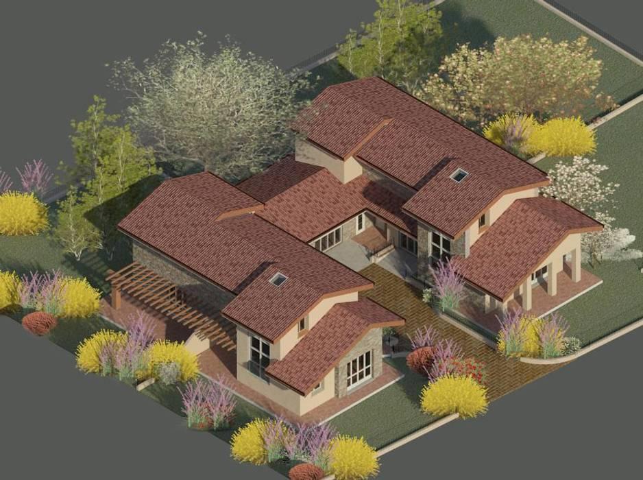 Studio la Piramide Architettura e Urbanistica Casas rústicas