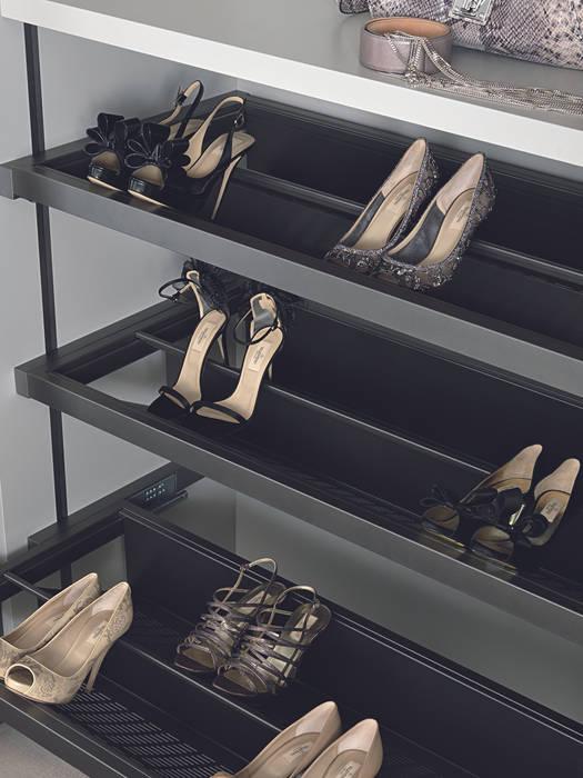 Bespoke shoe unit Lamco Design LTD BedroomAccessories & decoration